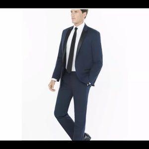 Express Slim Fit Navy Suit Pants
